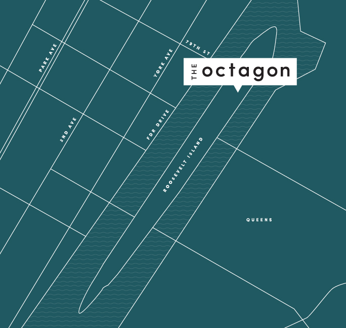 The Octagon Map location
